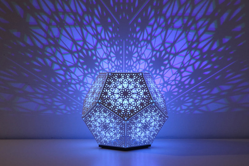 PRE-ORDER - Trillian Dodecahedron Table Light White