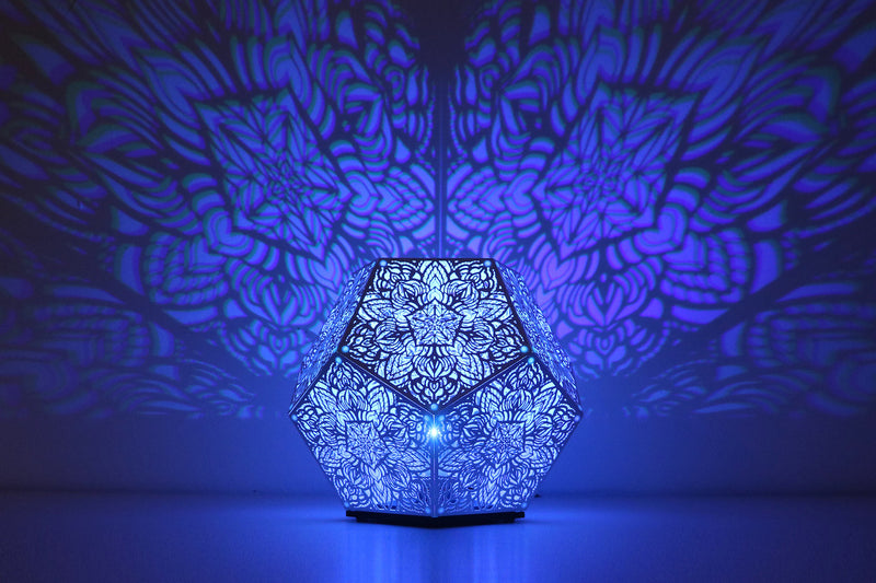 PRE-ORDER- Dillon Forte Dodecahedron Table Light White