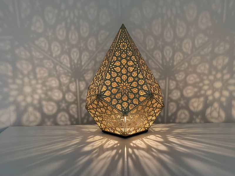 Sharjah Table Light - Gold