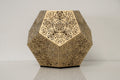Dillon Forte Dodecahedron Table Light - Gold