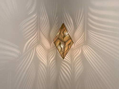 Flow Pendant Light - Large - Gold