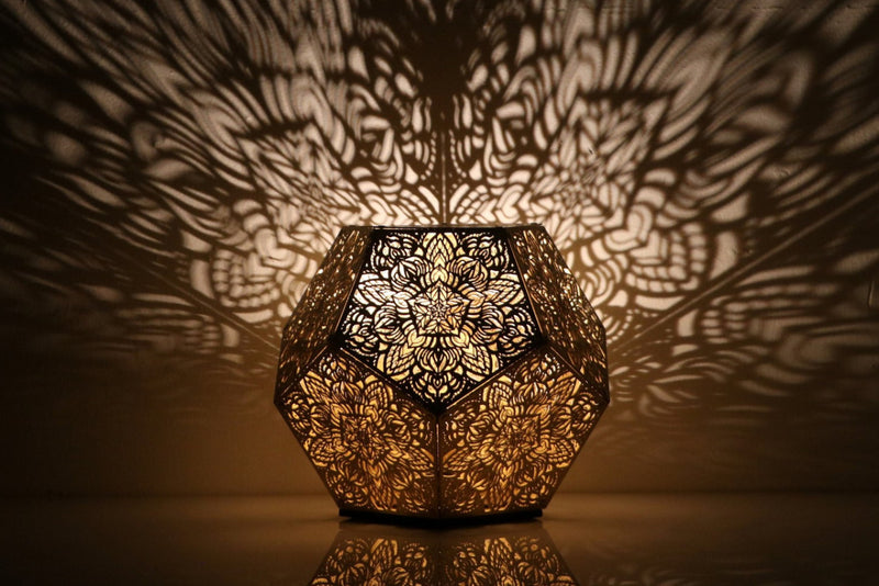 Pre-Order- Dillon Forte Dodecahedron Table Light