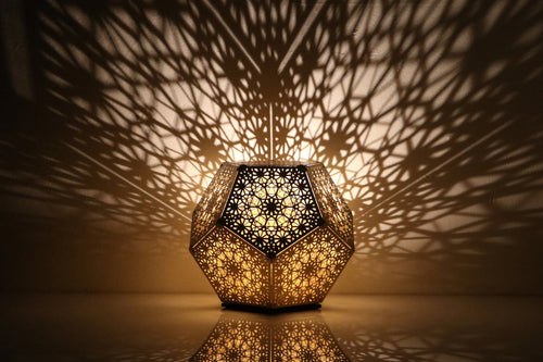 PRE-ORDER - Trillian Dodecahedron Table Light