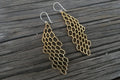 HYVE Honeycomb Earrings