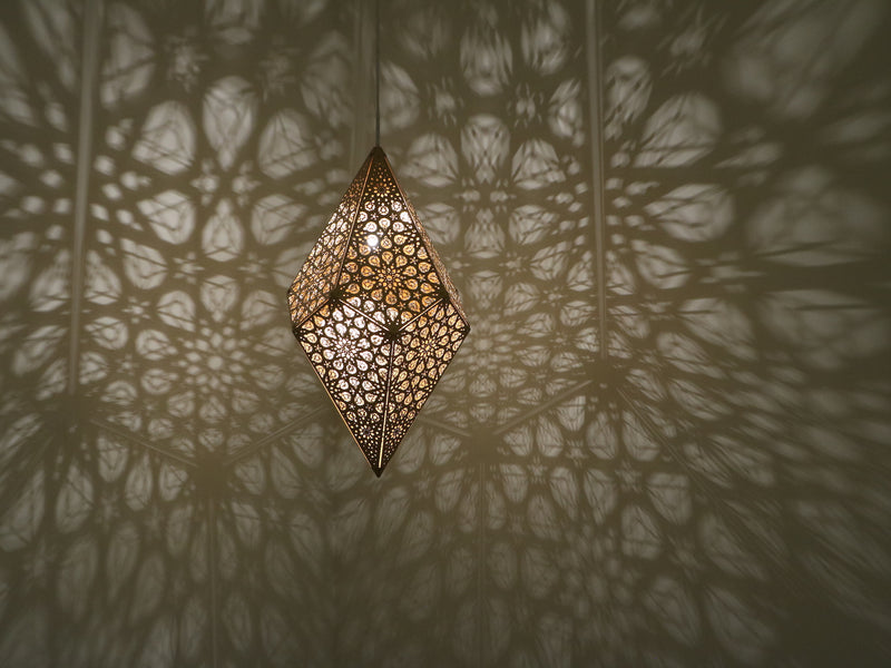 Sharjah Pendant Light - Gold