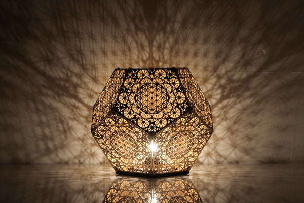 Pre Order Hybycozo Dodecahedron Table Light