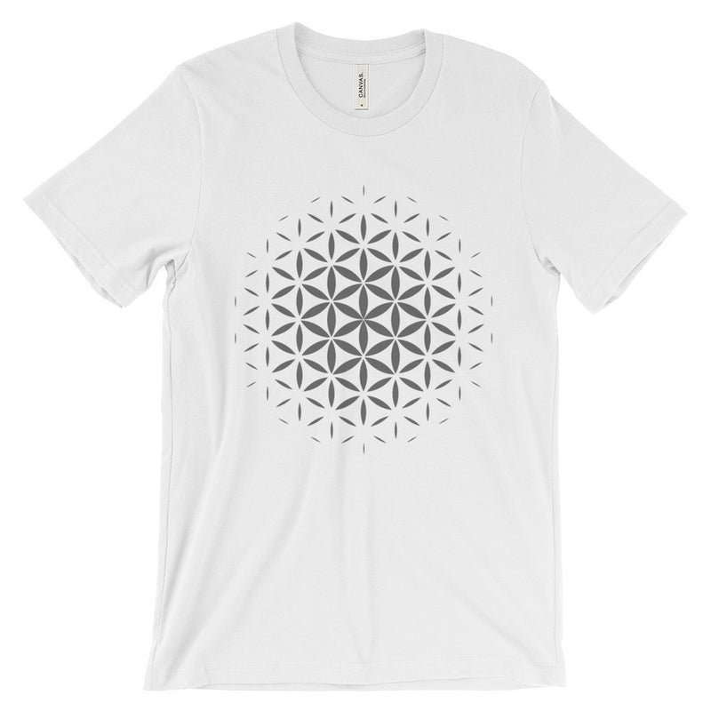 Flower of Life T-Shirt - Grey Print