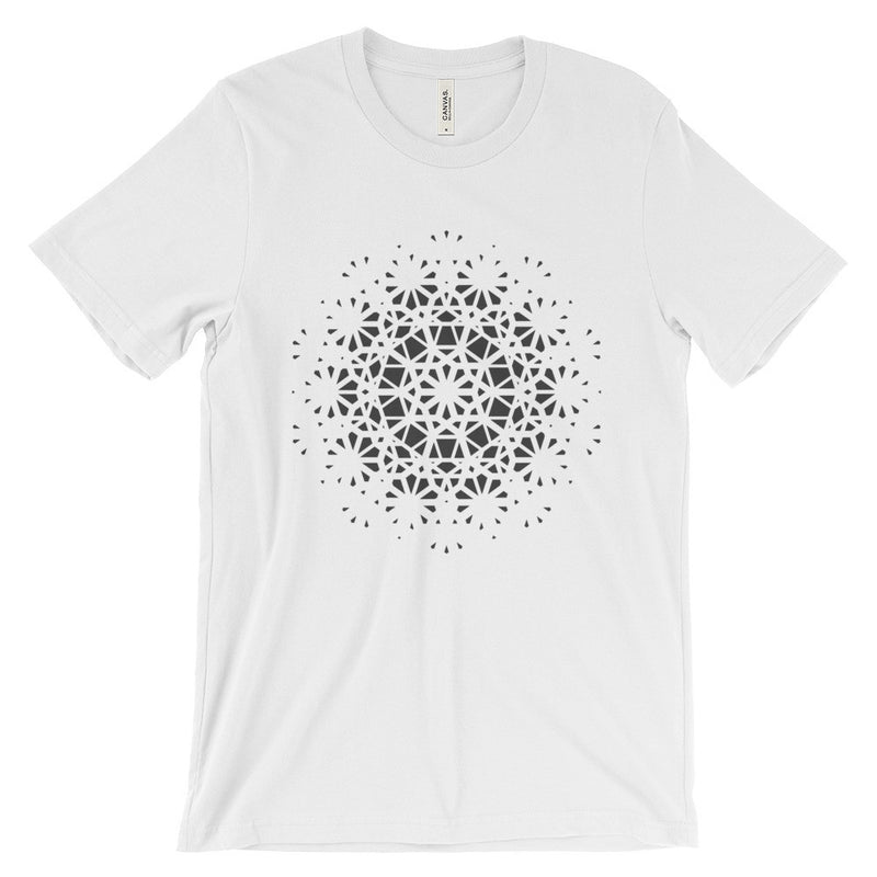 Rhombi T-Shirt - Grey Print