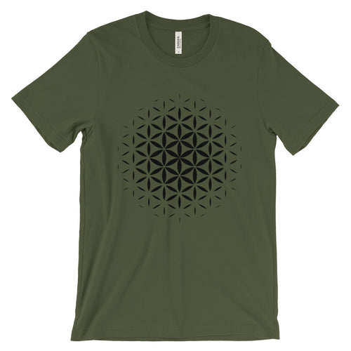 Flower of Life T-Shirt - Black Print