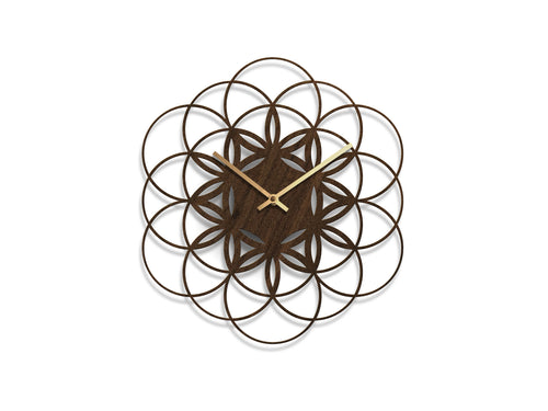 Flower of Life Clock