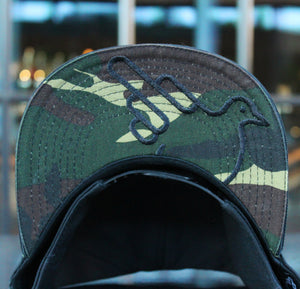 The Camothy Flat Bill Camouflage Snapback Hat