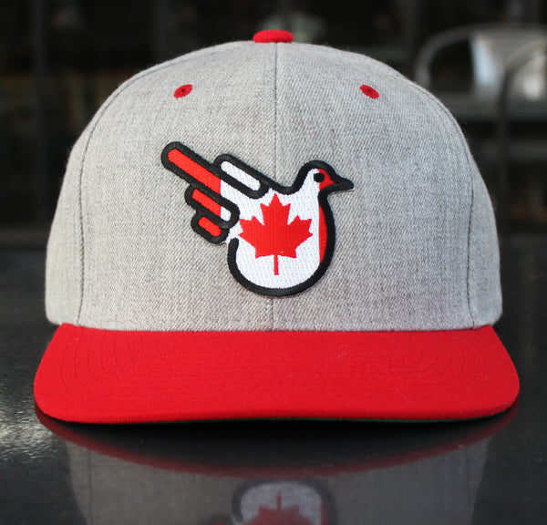 Effing Eh Canadian Flag Snapback Flat Bill