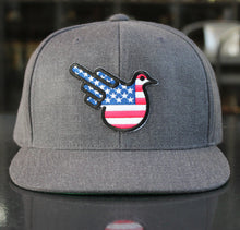 The American Snapback Flat Bill Hat