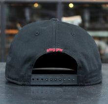 The Jimothy Red and Black Flat Brim Hat