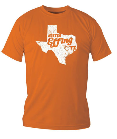 Burnt Orange Austin Effing Texas - Men