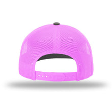 Real Man Pink Mesh Snapback Trucker Hat