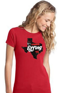 Lubbock Effing Texas - Women's V Neck