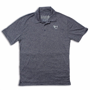 The Park City Polo (Dri-Fit Heather Navy)