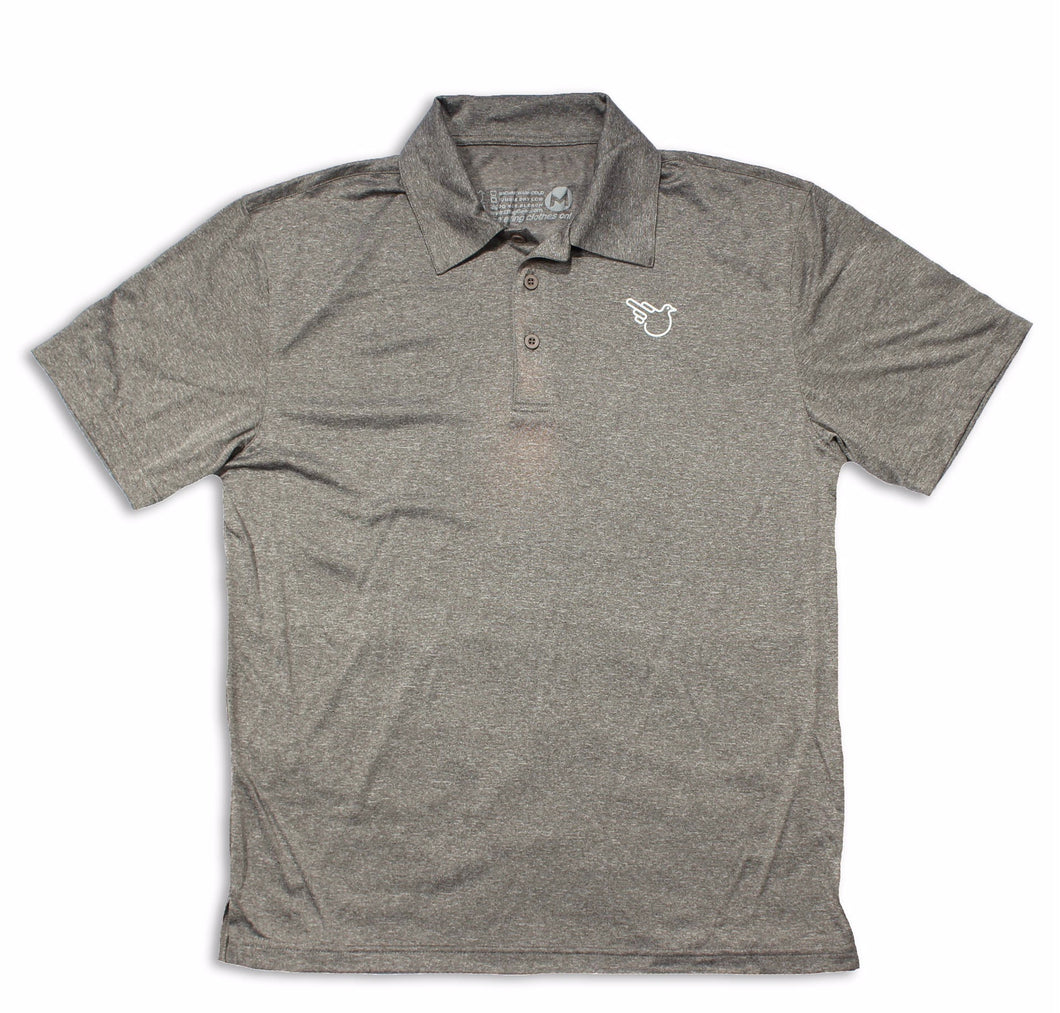The Park City Polo (Dri-Fit Gray)