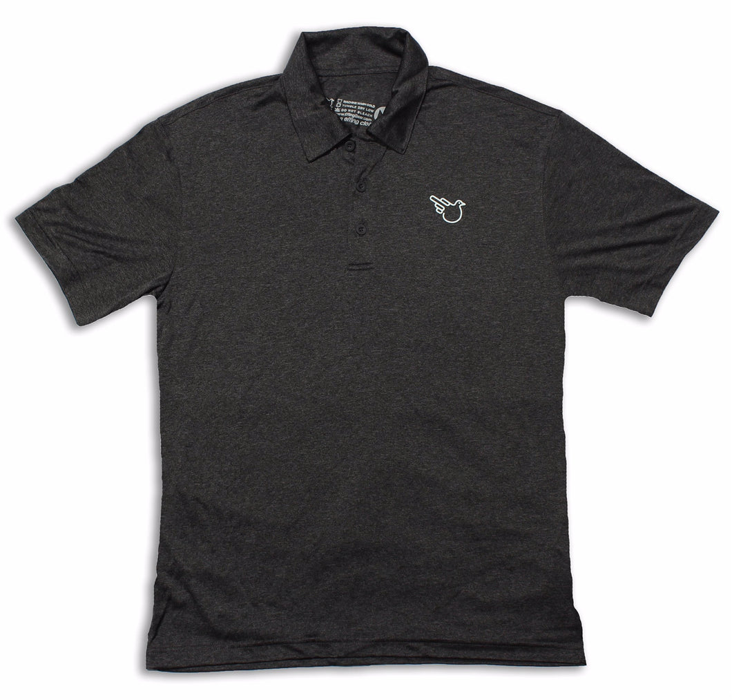 The Park City Polo (Dri-Fit Charcoal)