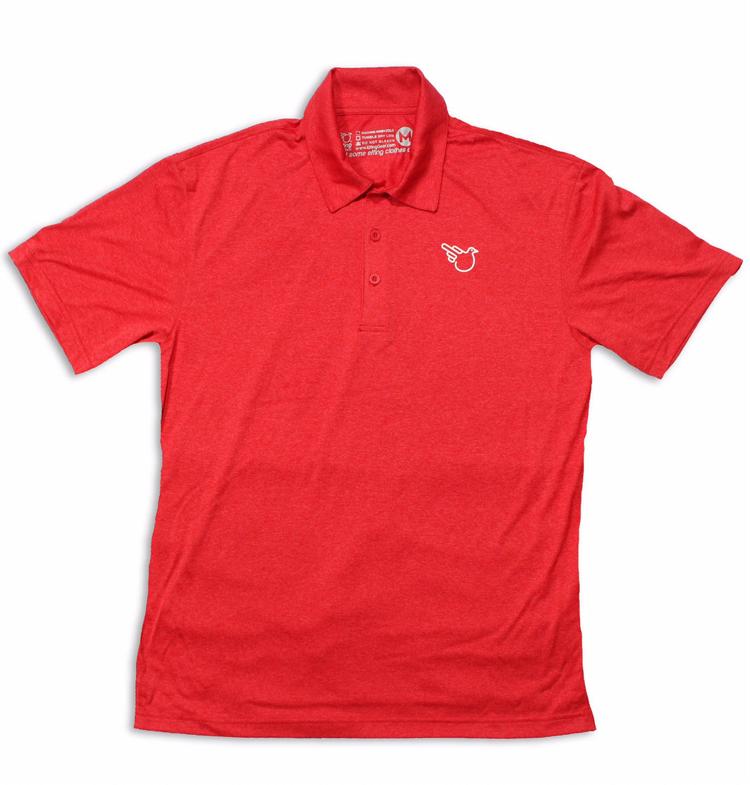 The Park City Polo (Dri-Fit Red)