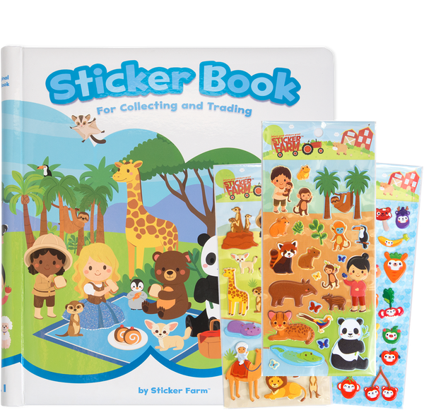 Original Sticker Book Kit