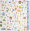 Sprout - Happy Day Sticker Book - Happy Confetti - Soft Cover