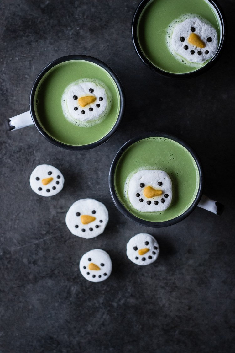 Encha Matcha White Hot Chocolate