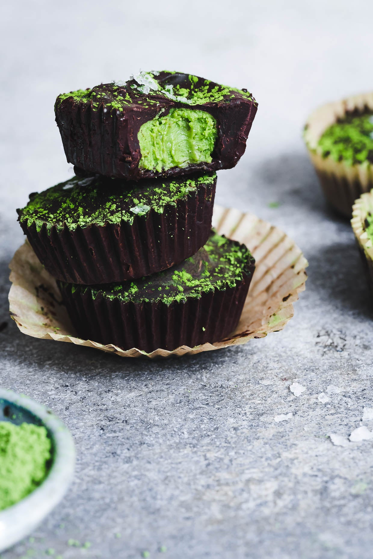 Encha Matcha Chocolate Mint Cups