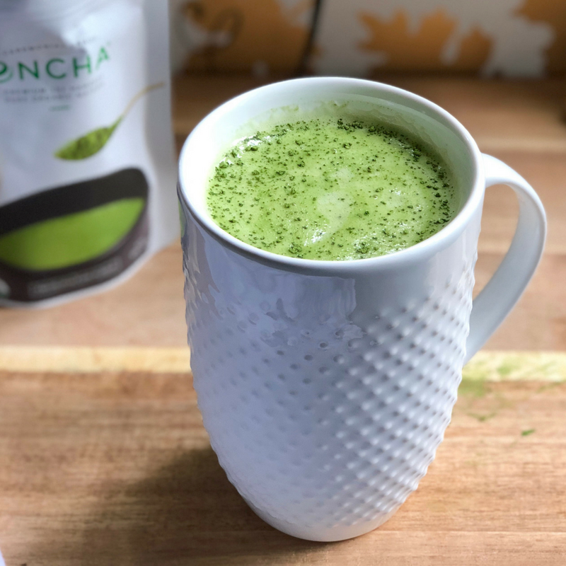Encha Matcha Ginger Mint Latte