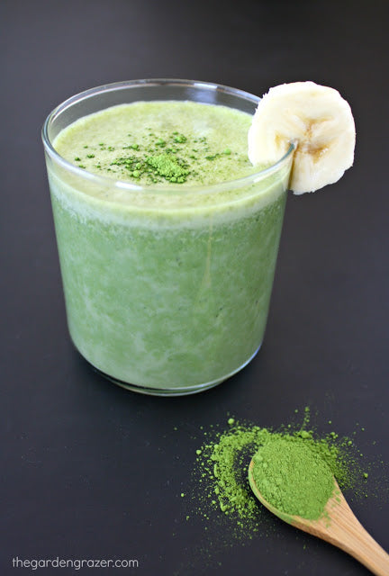 Encha Matcha Creamy Banana Smoothie