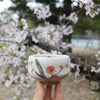 Plum blossom matcha cup mini chawan by Encha