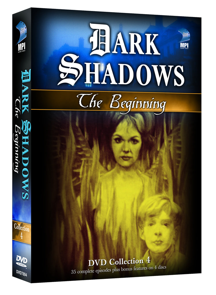 Dark Shadows: The Beginning # 4 - Box Art