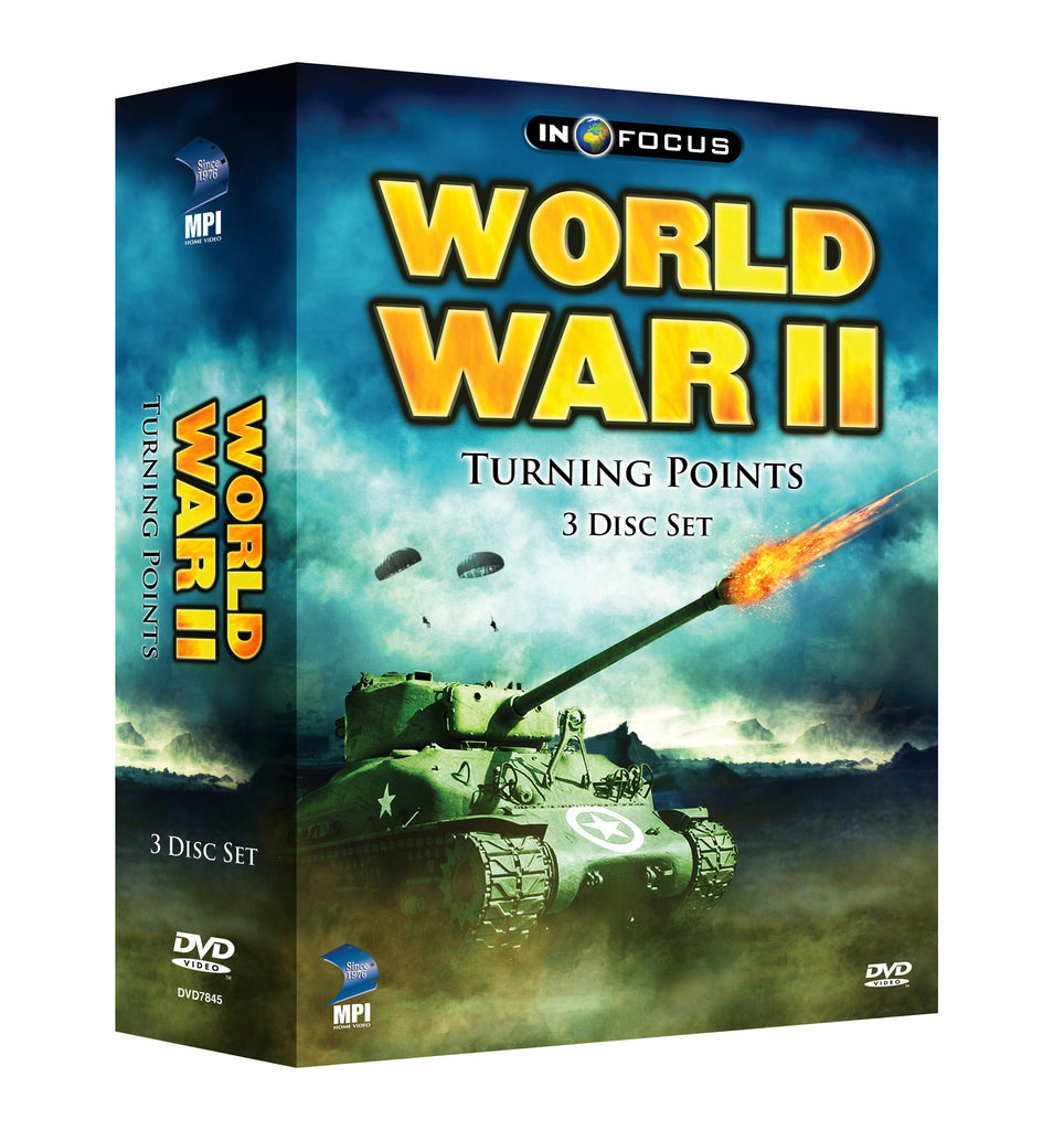 World War II Turning Points - Box Art