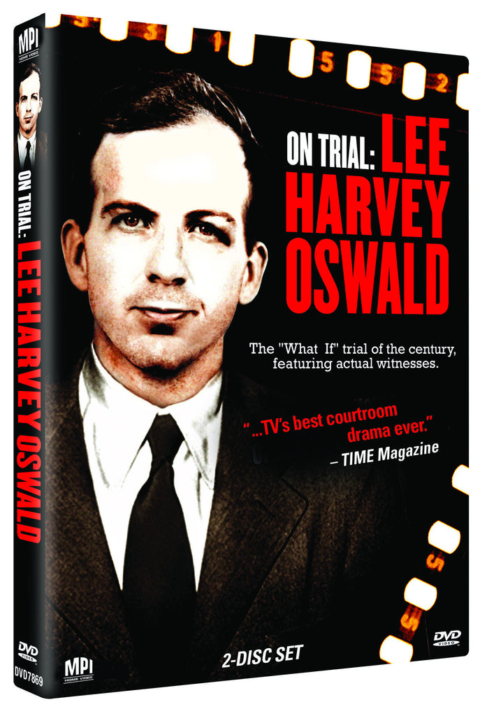 On Trial: Lee Harvey Oswald - Box Art