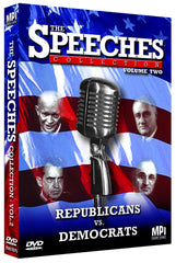 Speeches Collection Volume 2: Republicans vs. Democrats, The - Box Art