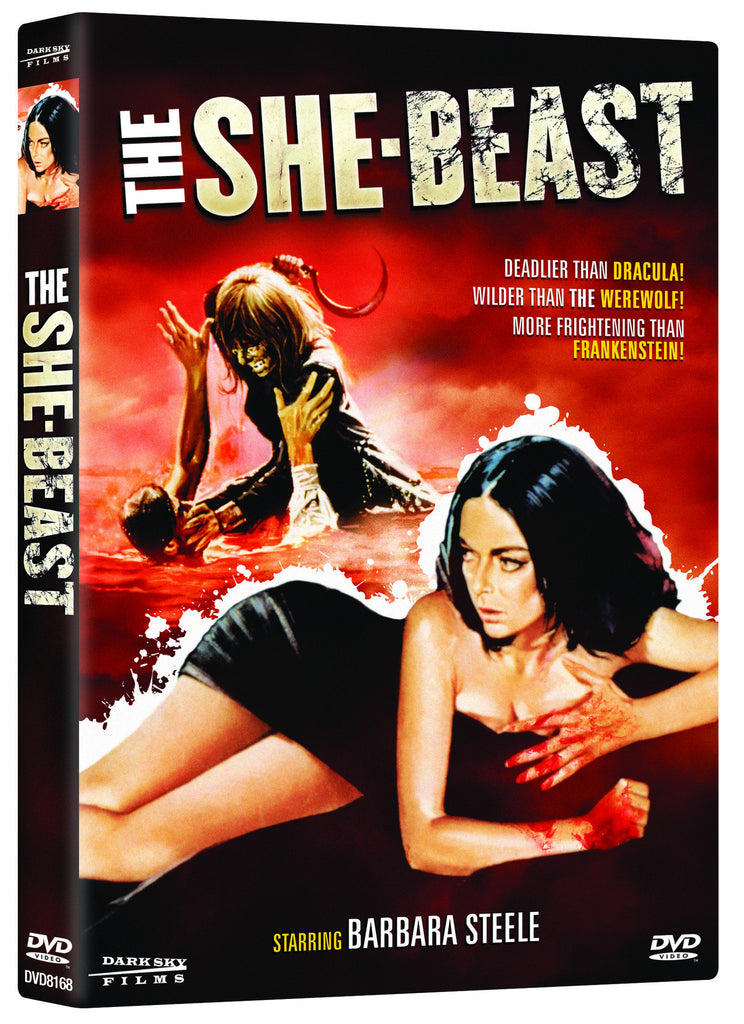 She Beast, The - Box Art