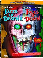 Faces of Death II and Worst Faces of Death - Box Art