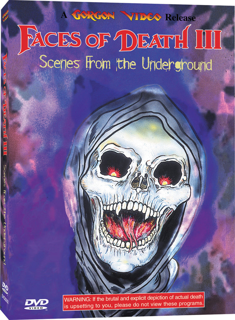 Faces of Death III - Box Art