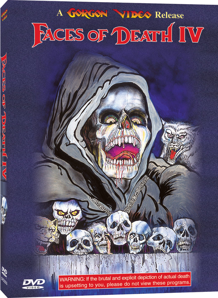 Faces of Death IV - Box Art