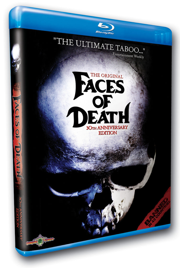 Original Faces of Death: 30th Anniversary Edition, The - Box Art