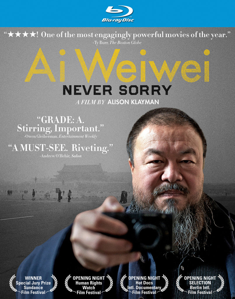 Ai Weiwei: Never Sorry - Box Art