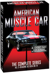 American Muscle Car: The Complete Series - Box Art