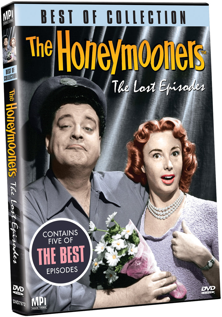 Best Of Collection: The Honeymooners Lost Episodes - Box Art