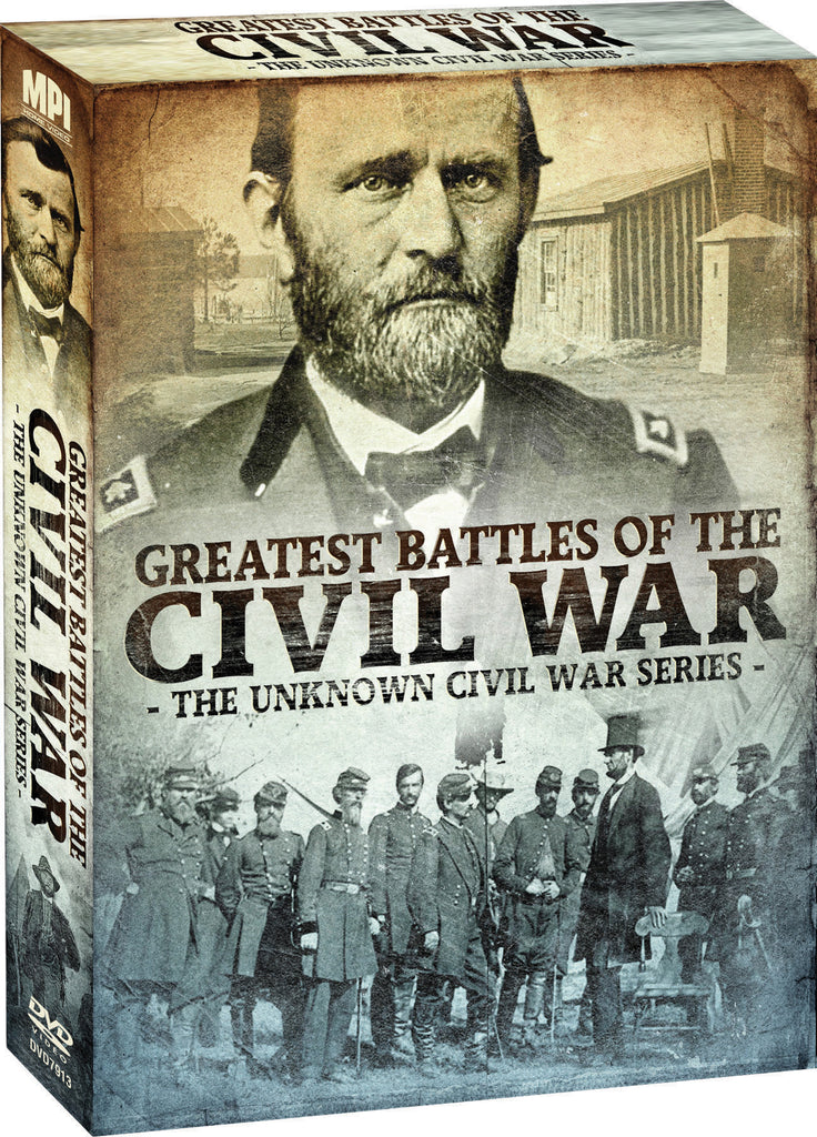 Unknown Civil War Series: Greatest Battles of the Civil War, The - Box Art