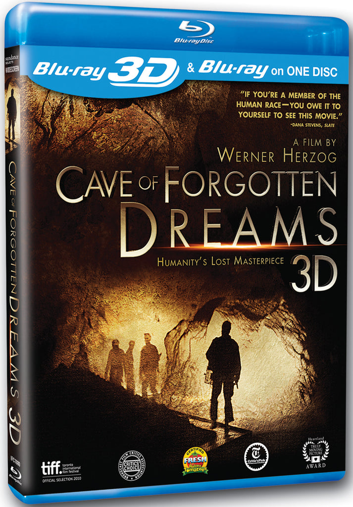 Cave of Forgotten Dreams Blu-ray/3D Combo - Box Art