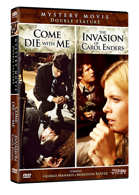 Mystery Movie Double Feature: The Invasion of Carol Enders and Come Die With Me - Box Art