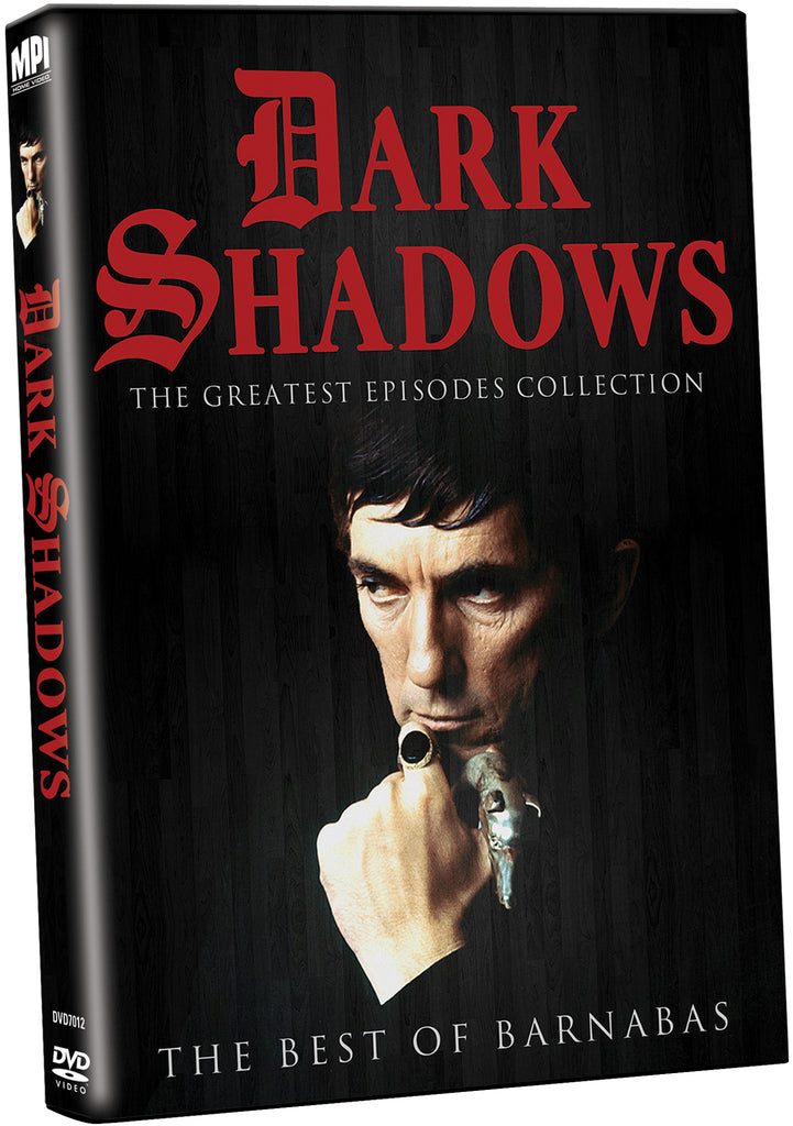 Dark Shadows Greatest Episodes Collection: The Best of Barnabas - Box Art