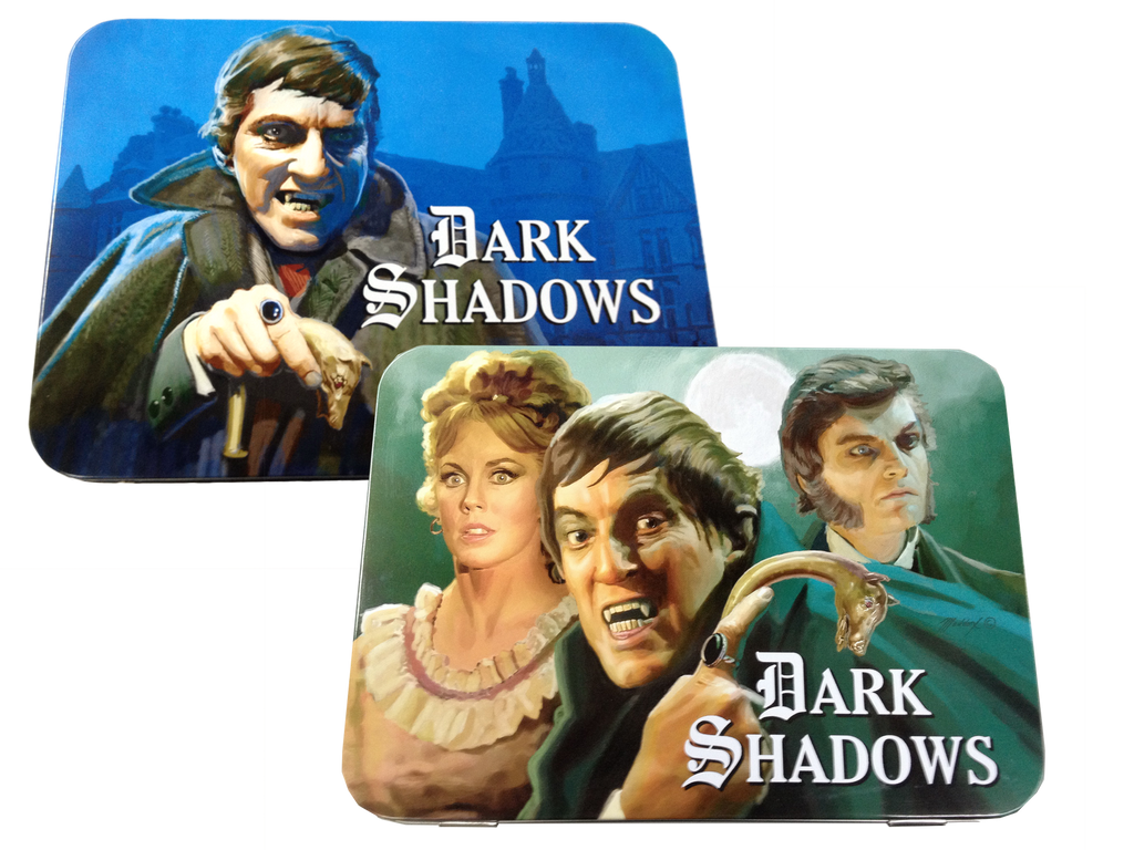 New Exclusive! Dark Shadows Retro Style Metal Lunch Box