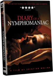 Diary of a Nymphomaniac - Box Art